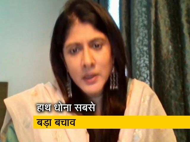 Videos : प्रिया नायर  ने कहा, 'COVID-19 के समय में हाथ की स्वच्छता को बढ़ावा देने की जरूरत'