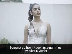 Priya Prakash Varrier ने जबरदस्त अंदाज में कराया फोटोशूट, बार-बार देखा जा रहा है Video