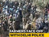 Video : Delhi Not For Farmers? Barbed Wires, Tear Gas, Barriers To Keep Them Out