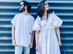 Sonam Kapoor And Harshvardhan Kapoor, Twinning In White, Redefine Sibling Goals