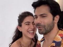 सारा अली खान ने वरुण धवन के साथ खेला 'नॉक नॉक' गेम, वायरल हुआ Video