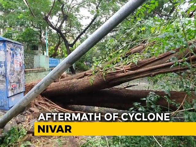 Video : 3 Tamil Nadu Deaths, Chennai Waterlogged by Cyclone Nivar