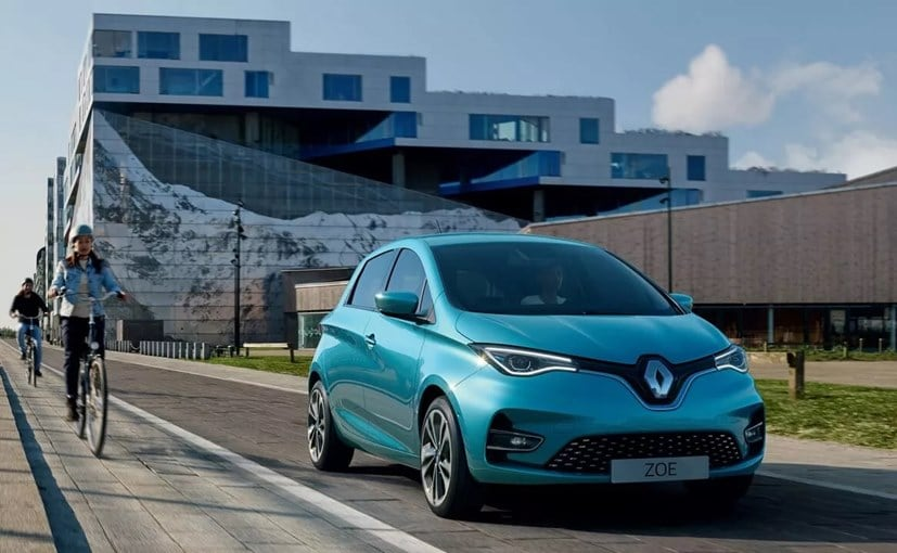Sales of the Renault Zoe small electric car have shot up this year