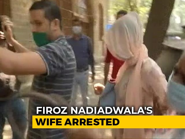 Video : Producer Firoz Nadiadwala's Wife Arrested After Raid Finds 10g Marijuana
