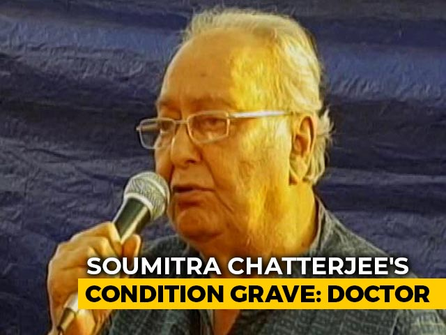"Video : ""Soumitra Chatterjee Is On Several Life Support Systems, Need A Miracle,"" Says Doctor"