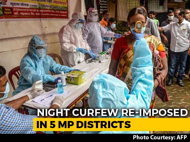Video : Night Curfew In Some Madhya Pradesh Cities Amid Rising Covid Cases