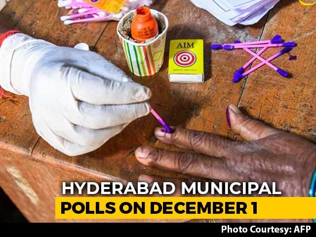 Video : Hyderabad Civic Polls To Be Held On December 1