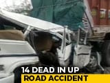 Video : 6 Children Among 14 Killed In Road Accident In UP's Pratapgarh