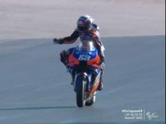 MotoGP: Miguel Oliveira Wins Portuguese GP; Joan Mir Retires Denying Suzuki Triple Crown