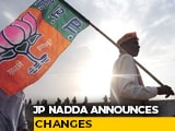 Video : BJP Reshuffles States' In-Charge Team, Sets Sight On Upcoming Elections