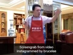 शेफ ने ब्रूस ली की तरह चलाया तूफानी नानचक, Video शेयर कर एक्टर बोले- शेफ से पंगा ना लें...