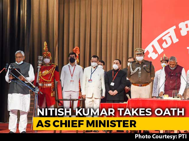 Video : Nitish Kumar Is Chief Minister For Fourth Straight Term