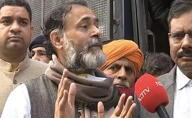 No Covid Rules In Bihar Polls, But They Apply To Farmers: Yogendra Yadav