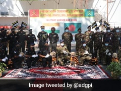 Indian Army Gifts 20 Trained Military Horses, 10 Mine-Detection Dogs To Bangladesh