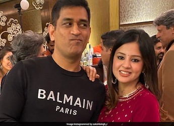 """""""My Fav Kuttu Paratha"""", Says Sakshi Dhoni As She Shares Picture Of Her Wednesday Dinner"""