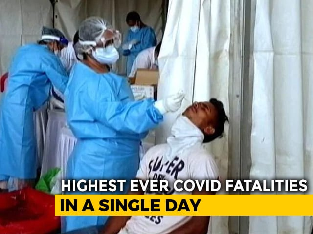 Video : With 104 Deaths, Highest Number Of Covid Fatalities In A Day In Delhi