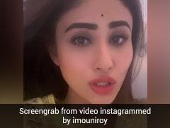मौनी रॉय ने गाया 'बाहों में चले आ' सॉन्ग, Video में जबरदस्त एक्सप्रेशंस देती आईं नजर