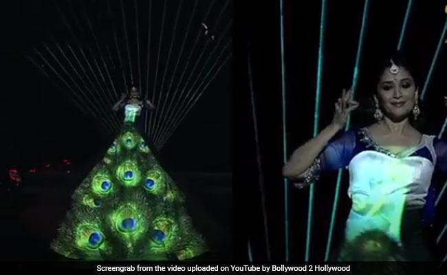 Madhuri Dixit ने स्टेज पर जोरदार डांस से बांधा समां, फैन्स के साथ-साथ सेलेब्स भी हुए दीवाने- देखें थ्रोबैक Video