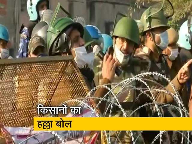 Video : दिल्ली-हरियाणा बॉर्डर पूरी तरह से सील