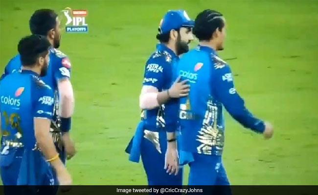 """MI vs DC, Qualifier 1: रोहित ने IPL 2020 Final में पहुंचने के बाद दिखाई ऐसी दरियादिली, लोगों ने कहा, वाह कैप्टन.."""""""