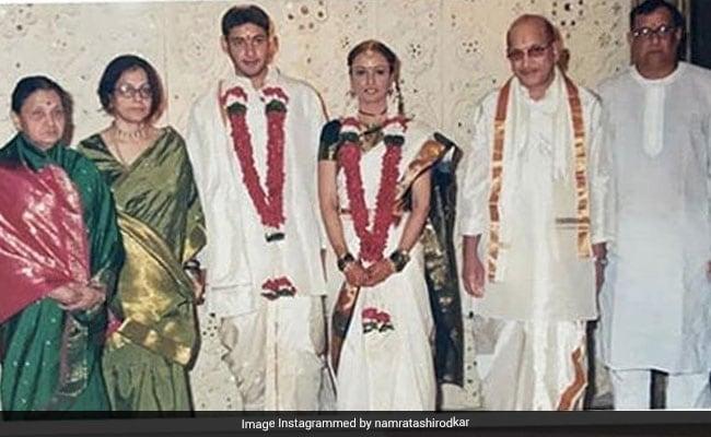 A 'Picture-Perfect' Moment From Mahesh Babu And Namrata Shirodkar's Wedding