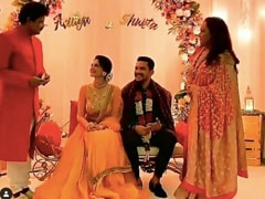 Inside Aditya Narayan And Shweta Agarwal's Pre-Wedding Festivities