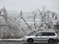 Ice Storms In Russia's Far East, Thousands Without Power