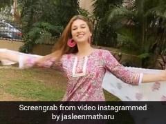 Jasleen Matharu ने 'बदमाश दिल' सॉन्ग पर यूं झूमकर किया डांस, वायरल हुआ Video