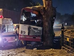 Bus Rams Tree In Southeast Delhi, 12 Injured: Police