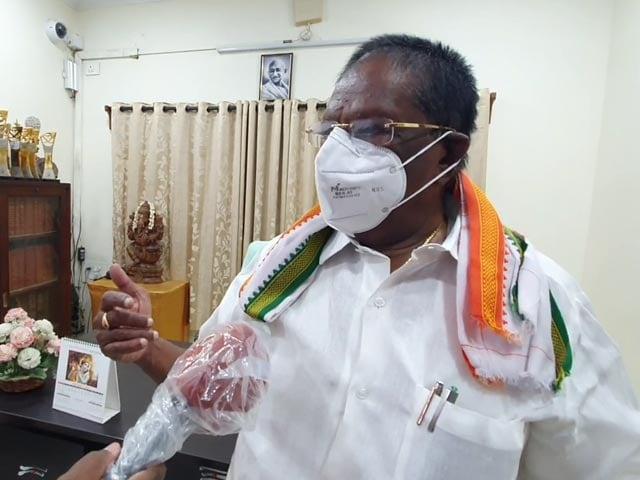 "Video : ""Puducherry Is Prepared"": V Narayanasamy On Cyclone Nivar"