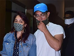 Aamir Khan And Daughter Ira Spotted At A Theatre In Mumbai. See Viral Pics
