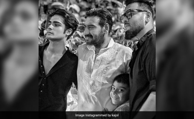 International Men's Day: 'Proud' Kajol's Big Shout Out To Husband Ajay Devgn And Son Yug
