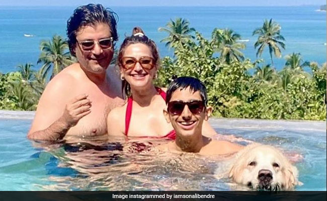 Diwali 2020: Sonali Bendre Sets Fam-Jam Goals With The Cutest Holiday images
