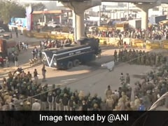 Traffic Hit On Key Delhi Roads As 2 Borders Closed Amid Farmers' Protest