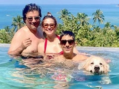 Diwali 2020: Sonali Bendre Sets Fam-Jam Goals With The Cutest Holiday Pic