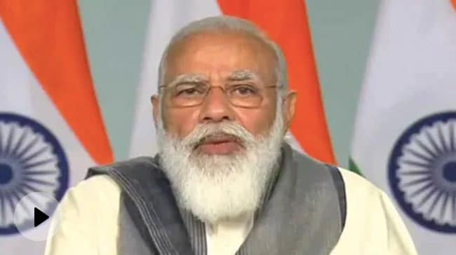 गुरुनानक का जिक्र कर PM मोदी ने साधे एक तीर से 2 निशाने, कहा- नए कानून से कई किसान हुए लाभान्वित