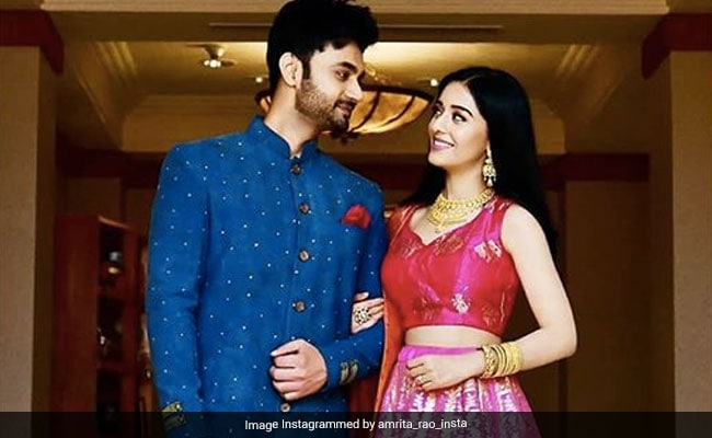 Amrita Rao And RJ Anmol Are Open To Baby Name Suggestions
