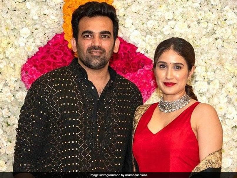 """Three Years Done, A Lifetime To Go!"": Mumbai Indians Wish Zaheer Khan, Sagarika Ghatge On Wedding Anniversary"