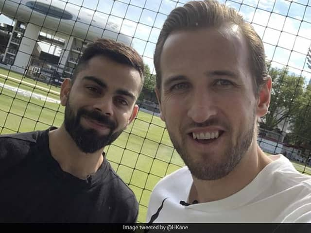 "Virat Kohli Responds To Harry Kanes ""Any Places Going For RCB"" Tweet"