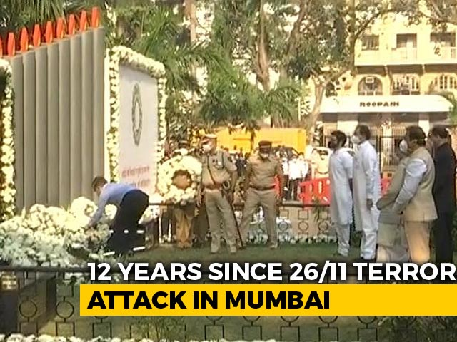 Video : 12 Years On, Tributes Paid To Those Killed In 26/11 Mumbai Terror Attack