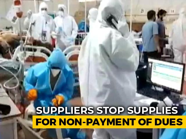 Video : Suppliers Stop Critical Supplies To Maharashtra Government Hospitals