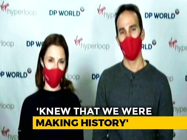 Video : Meet The Pioneers: World's First Passengers On Hyperloop