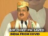 Video : Trump Couldn't Handle Covid Properly, PM Modi Saved India: BJP Chief