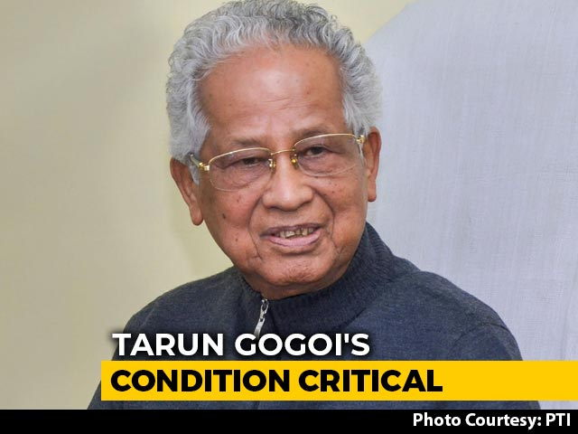 """Video : """"Extremely Critical"""": Ex-Assam Chief Minister Tarun Gogoi's Health Worsens"""