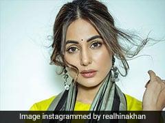 दिवाली के मौके पर हिना खान ने साड़ी पहन यूं फ्लॉन्ट किया स्टाइलिश अंदाज, देखें वायरल Photos