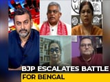 Video : 'Should We Serve Them Tea?': BJP Leader Repeats Violence Threat, Trinamool Hits Back