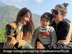 Malaika Arora And Kareena Kapoor Are Giving Their Mountain Vacation A Fashionable Touch