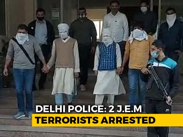 Video : 2 Suspected Jaish Terrorists Arrested In Delhi, Terror Plot Busted: Cops