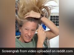 अंतरिक्ष में अंतरिक्षयात्री कैसे धोते हैं अपने बाल? एस्ट्रोनॉट ने डाला गर्म पानी और फिर किया ऐसा - देखें पूरा Video