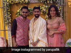 Saina Nehwal Shares Pictures Of Her Attending Badminton Player Guru Sai Dutt's Wedding
